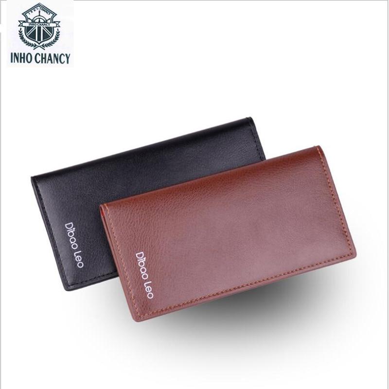 2017 new men's wallet genuine men long wallet leisure men's wallet burst suit
