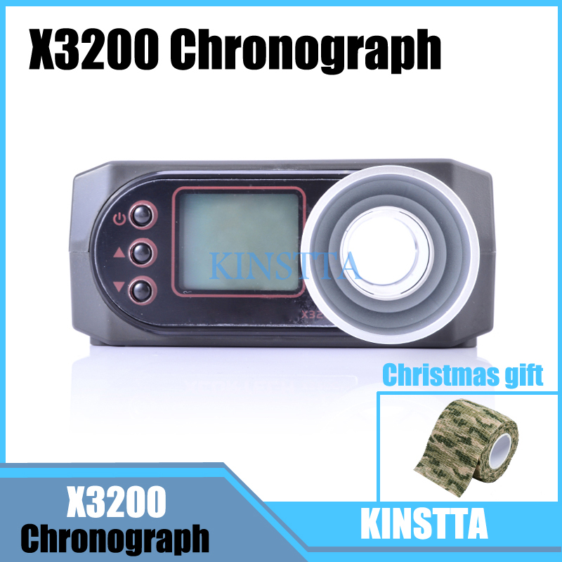 XCORTECH Tactical X3200 Airsoft BB Speed Tester Shooting Chronograph For Hunting Airsoft Shooting Tester