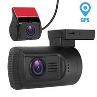 MALUOKASA Dual Lens Car Camera Novatek 96663 Car DVR Front Rear Full HD 1080P Auto Dash