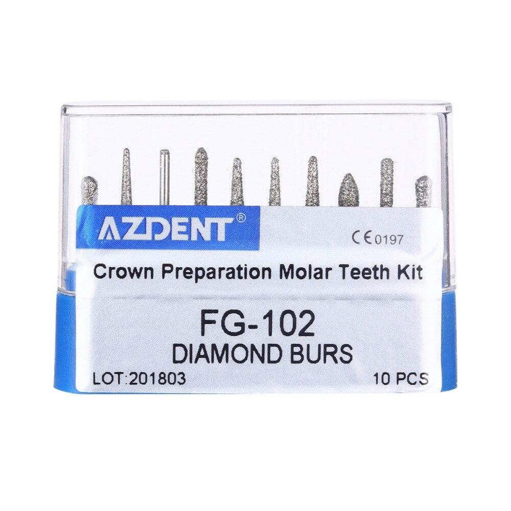 Dental Diamond Burs Drill Dia burs for High Speed Handpiece Medium FG101 102 103 104 105 Dentist Tools Dentistry Lab in Teeth Whitening from Beauty Health