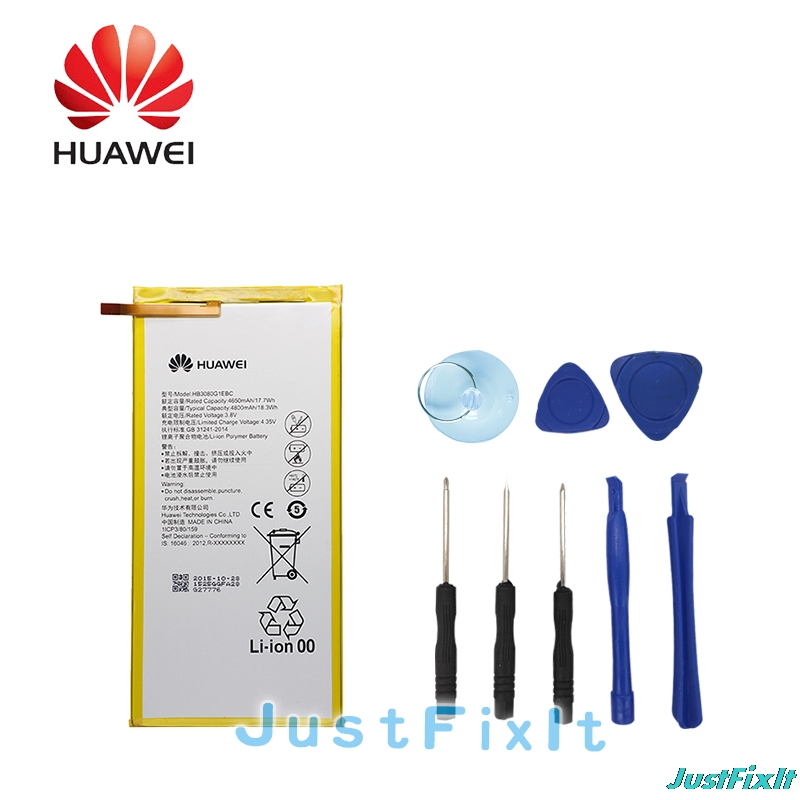 Cellphones & Telecommunications Intellective Hb3080g1ebc Hua Wei Original Replacement Tablet Battery For Huawei Mediapad M1 8.0 T1-821w/823l M2-803l Honor S8-701w 4650mah Mobile Phone Parts