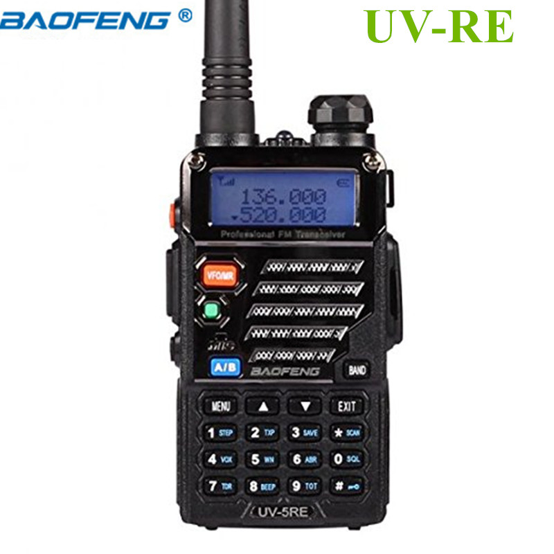 BAOFENG UV-5RE Talkie Walkie à Deux Voies Émetteur-Récepteur Radio Walk Talk 10 km Portable Radio Ham Cb Radio Vhf Uhf