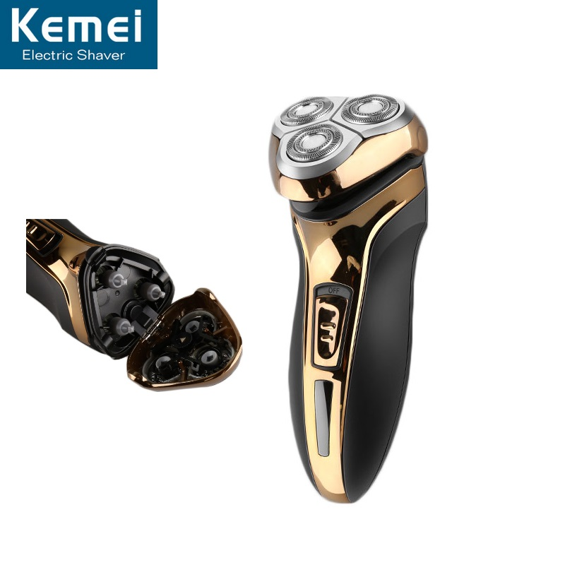 Kemei 9391 Men Razor Electric Shaver Beard Trimmer Barbeador Wool Razor With Hair Clipper Washable 3D Floating Cutter For Men 3d men shaver electric razor rechargeable washable 3 blades hair trimmer clipper 3 in 1 beard cutting shaving machine for men
