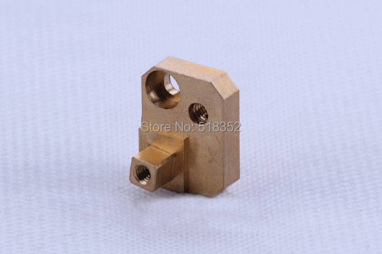 434.002 / 200434002 Charmilles C471 Power Feed Contact's Holder/ Base 19x25mm for WEDM-LS Wire Cutting Machine Parts