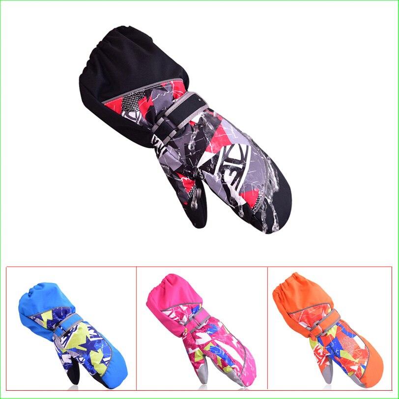 GUANTES SG08-C Guantes Impermeables de la Nieve del Esquí Snowboard Guantes niño