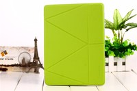 For IPad 2 3 4 Case Onjess Fold Originality Smart Cover Deformation Stand For Apple IPad2