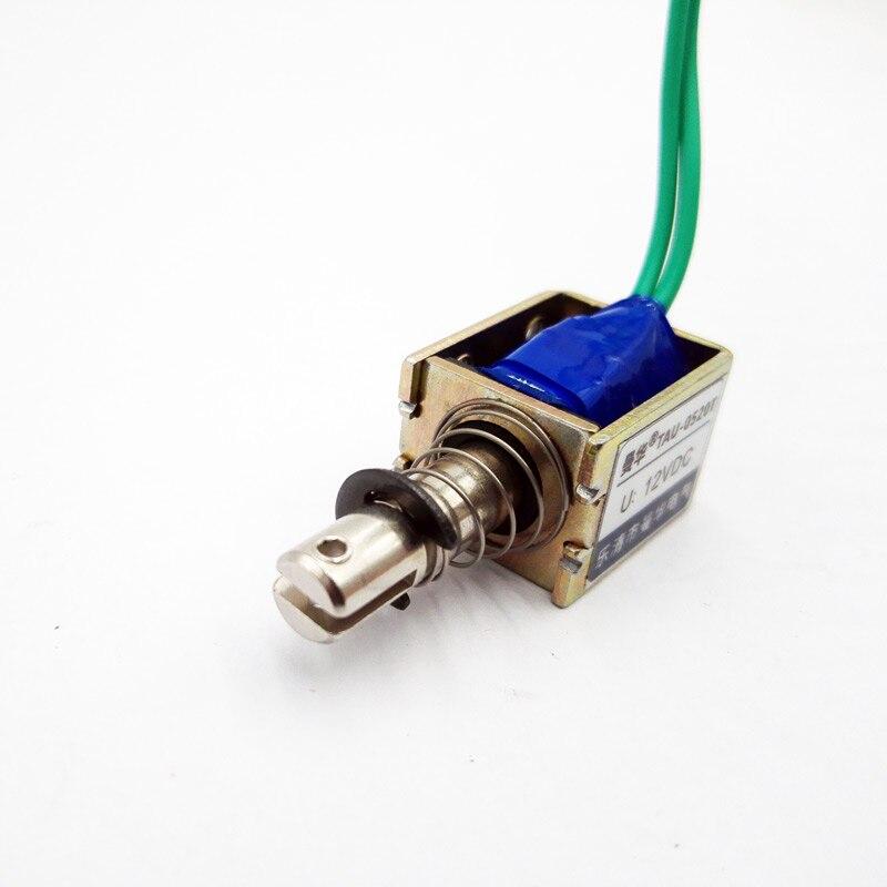 Натяжной магнит постоянного тока 6 в, 12 В, 24 В, 0520 т, электромагнитный соленоид с открытой рамой, ход электромагнита 10 мм, сила сохранения 400 г