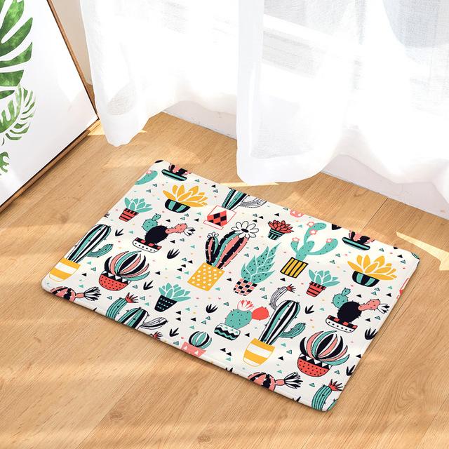 Cactus/Llama Anti-Slip Door Mat