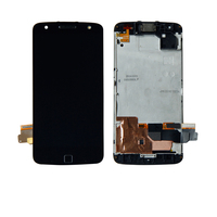 For Motorola Moto Z Force Droid XT 1650M Touch Screen Digitizer Lcd Display Assembly With Frame Panel Replacement Free Shipping