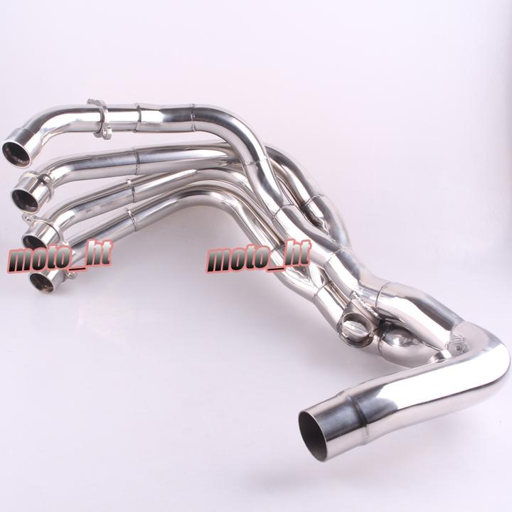 Stainless Steel Exhaust Downpipes Headers Pipe For Honda CBR600RR 2007 2008 2009
