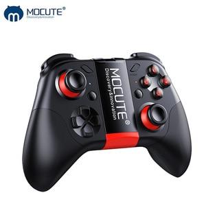 Mocute 054 Bluetooth геймпад мобильный Джойстик Android джойстик беспроводной VR контроллер смартфон планшетный ПК телефон Смарт ТВ игровой коврик
