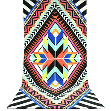New 2017 Absorbent Bath Towel 70*145cm Fashion Soft Cotton Towels Geometric Beach Summer Swimming Spa for Adults