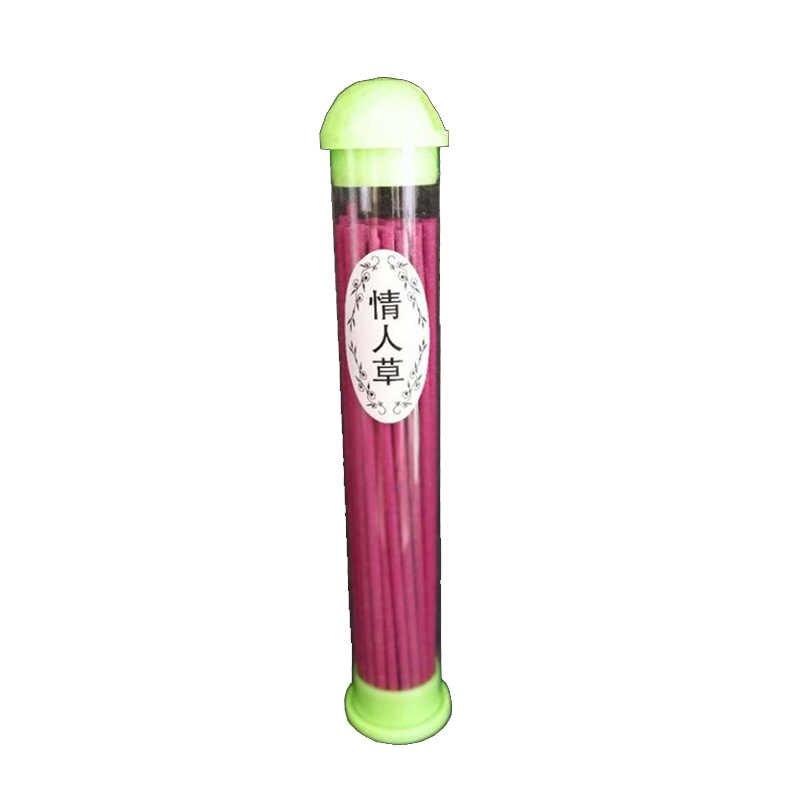 Eine Box Tibetischen Lily Rose Apple Sandelholz Indische Weihrauch Räuchergefäß Barrel 50 stücke Farbe Weihrauch Sticks S $
