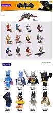 480pcs Building Block  Marvel Avengers Super Heroes Batman Joker Red Mask Nurse Harley Fairy Barbara Catwoman baby Toys