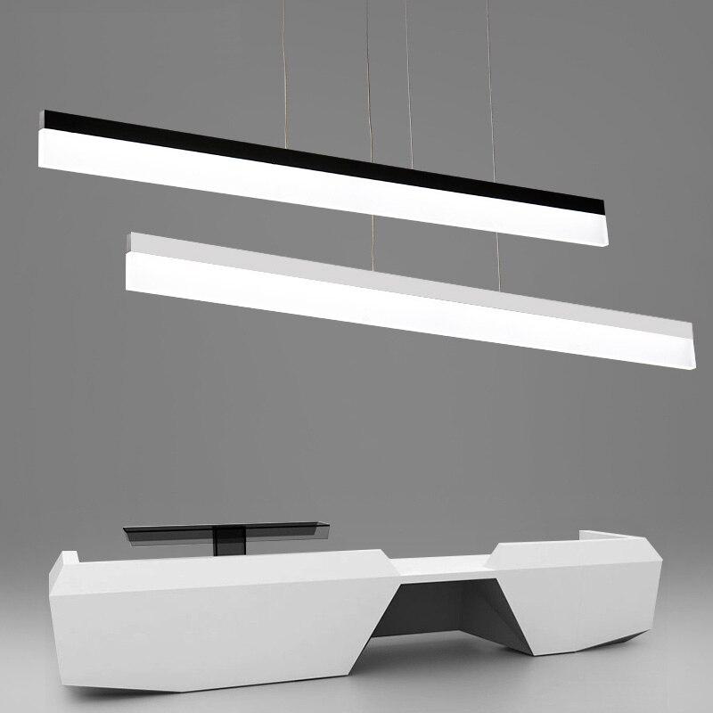 Modern Minimalism Office Led Pendant Light Dining Room hanging Lighting home Led Suspend Lamp Indoor Lighting