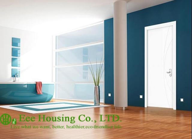 40mm thickness White Timber veneer door for apartment Swing type door inward \u0026 outward & 40mm thickness White Timber veneer door for apartment Swing type ...