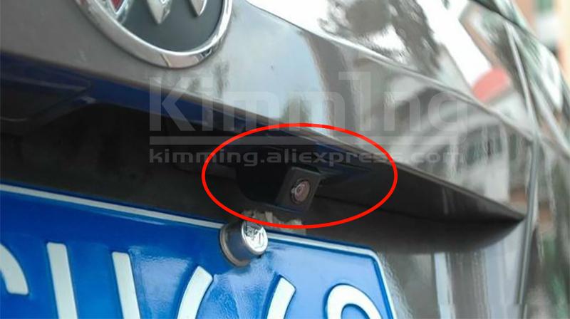 Rear view camera Reversing camera Parking camera Backup camera License Plate Light Original camera Sony camera Toyota Reiz Mark X Prius Land Cruiser Prado Lexus GX470 LX470 (1)