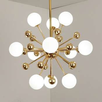 Modern Gold Glass Ball Chandelier Lighting Living Room Kitchen Bedroom Lustre Chandeliers Ceiling LED Decoration Light Fixtures oval design modern crystal chandelier living lighting ac110v 220v gold lustre dinning room light fixtures