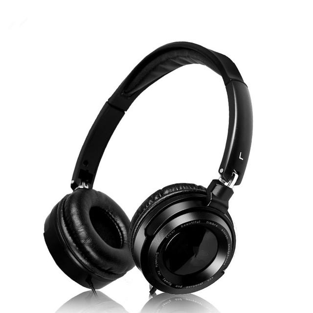 EM520 Fones De Ouvido Música Estéreo Dobrável Fone De Ouvido Fone de Ouvido Para O Telefone PC Poderoso Baixo Over-ear fone de ouvido Estilo