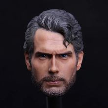 Custom 1:6 Man Male Head Carving Superman Henry Carville 12 Action Figure PH HT Body