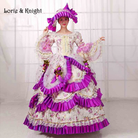 18th Century Marie Antoinette Inspired Costume Rococo Dress Sissi Princess Party Dress Masquerade Ball Gown
