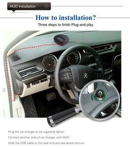 Image 5 - A1 GPS Universal Car Head Up Display HUD Speedometer Windshield Projectorr Speed Alarm Display Kilometers Security Alarm
