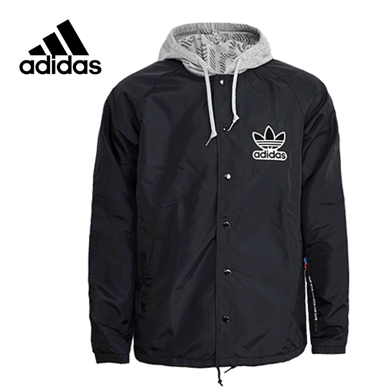 Original New Arrival Official Adidas Windbreaker NY Men's jacket Hooded Sportswear BQ0905 word 2010 elearning kit for dummies