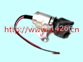 Stop Solenoid Valve SA-4899-12 / 17520-60013 / 1756ES-12SULB1S5 Use D722, 12V stop solenoid sa 4899 24 sa 4899 1756es 24sulb1s5 24v 3pcs lot