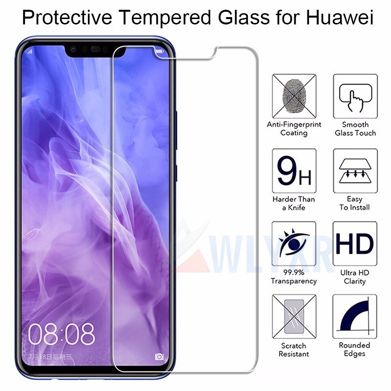 9H HD <font><b>Tempered</b></font> <font><b>Glass</b></font> for <font><b>Huawei</b></font> Mate 20 X 10 Lite Screen <font><b>Glass</b></font> on <font><b>Huawei</b></font> Honor 8X 8A 8C Hard <font><b>Glass</b></font> for <font><b>Huawei</b></font> P30 20 Lite Pro image