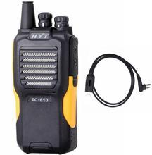 Hot Sale! Sure original Hytera TC 610 Handle Radio 16 Channel 5W Portable Radio HYT TC-610 136-174MHz WaterProof Walkie Talkie