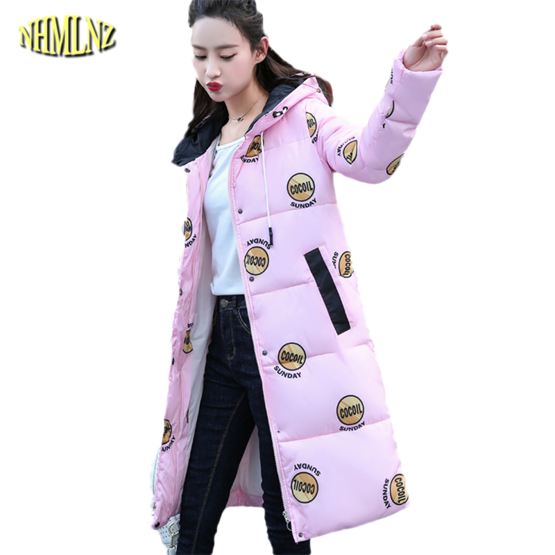 Autumn And Winter New Long section Long sleeve Hooded Fashion Women Cotton coat Coat printing Slim Comfortable Women Coat WK162 2016 autumn winter women s casual fashion not as long as before and after long section side seam zipper bags seven snowflakes