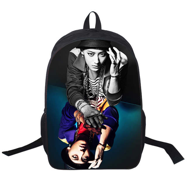 35c34ed322e placeholder 2019 New Women Bags G-Dragon 3D printing Backpack Students School  Bag For Teenage Girls