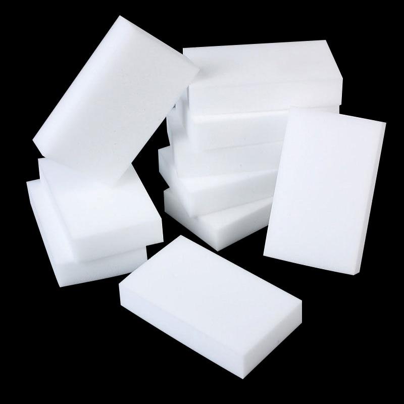 10/20Pcs Multi-function Magic Melamine Sponge Eraser Cleaner Cleaning Sponges Kitchen Bathroom 100x60x20mm