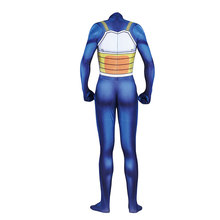 2019 New product Posting Vegeta Role Playing Cosplay Conn.Halloween tights, jumpsuits. Customized for adult children