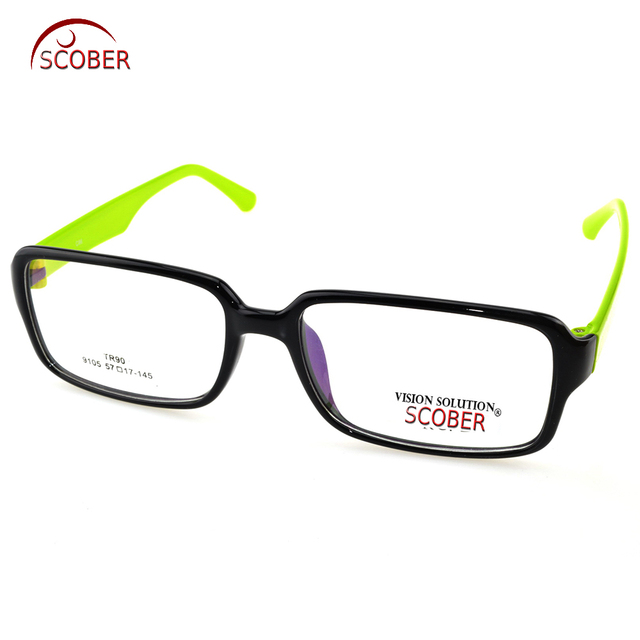 283535458b SCOBER   TR90 Ultralight Retro Largest Frame Spectacles Custom Made  Prescription Lens Myopia Reading Glasses Photochromic