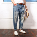 Men's Harem Jean Pants Ankle-Length Hip Hop Loose Fit  Japan Style Jeans Trousers Size S-4xl