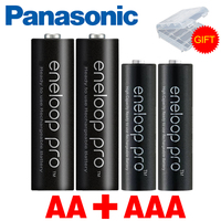 100% Original Panasonic 1.2 v Ni MH AAA batterie Rechargeable and 1.2V AA Rechargeable Battery for flashlights,toys battery