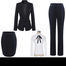 Womens Office Suits Ladies Professional Suits Trousers