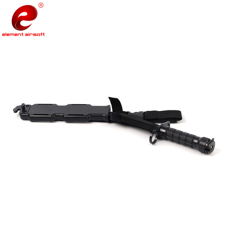 M9 Tactical Training Dagger Cosplay Plastics Knife Hunting Rubber Training Knifes Modeling Bayonet with Plastic Holster CS CY337 in Outdoor Tools from Sports Entertainment