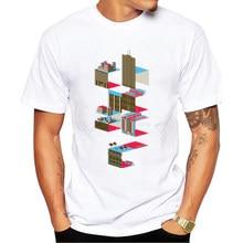 Men's Fashion Shirt 2017 T Shirt Short Sleeve Tee Plus Size Hot Sale Printing Tshirt Homme Fitness Tops Summer Style T-shirt