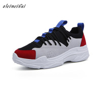 2018 Sneakers Women New Unisex Spring Casual Shoes Basket Flats Female Platform Shoes Woman Trainers Shoes Chaussure Femme