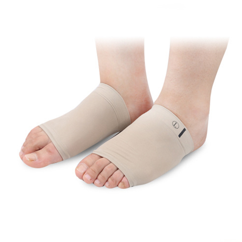 1 Pair Arch Support Sleeve Arch Socks Foot Massager Posture Correction Cushion Orthopedic Pad  For Heels Shoe Insole
