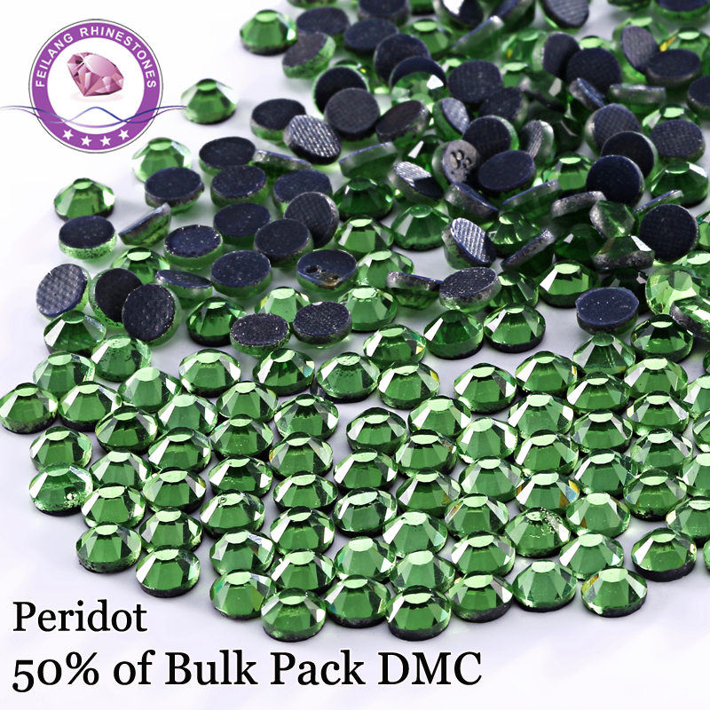 High Quality Peridot DMC Hotfix Rhinestones   Iron On Flatback Cystals For  Dresses Accessories DIY Decoration -in Rhinestones from Home   Garden on ... c0abf9b77f9a