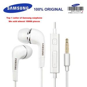 Проводные наушники SAMSUNG EHS64 с микрофоном, 3,5 мм, гарнитура для Xiaomi Galaxy S8, S9, S9 Plus, официальная верификация