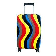 Elastische Druck Gepäck Schutzabdeckung Trolley Koffer Staubbeutel Fall Mode Reise Zubehör Produkt Lieferungen