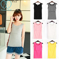 3390# Elastic Cotton Nursing Tank Tops 2017 Summer Breast Feeding Vest Clothes for Pregnant Women Maternity Breastfeeding Shirts