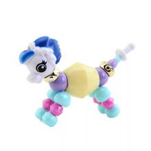 MIXIU 1pcs Colorful DIY Cartoon Animals Bracelet Kids Girls Creative Magic Tricks Bracelet Accessory Decorations Hair Headwear
