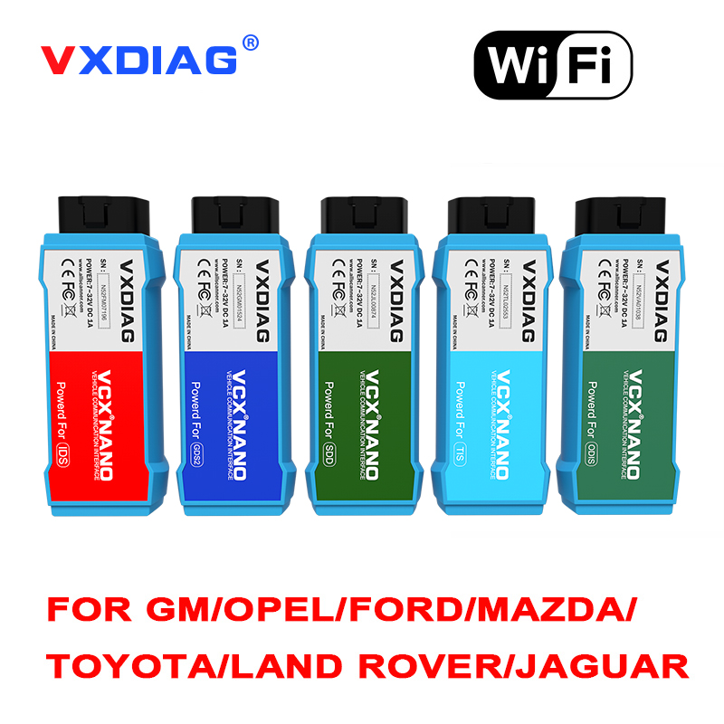 2018 VXDIAG VCX NANO for GM/Opel GDS2 and TIS2WEB Diagnostic Tool wifi version Programming System for GM better than MDI купить недорого в Москве