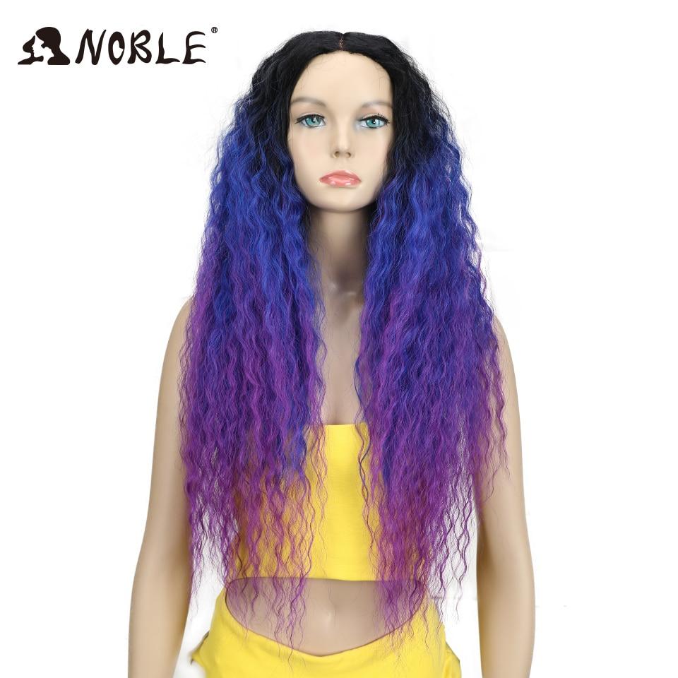 Noble Hair Products Wig 28 tum lång vågig Cosplay Elastic Kanekalon - Syntetiskt hår - Foto 2
