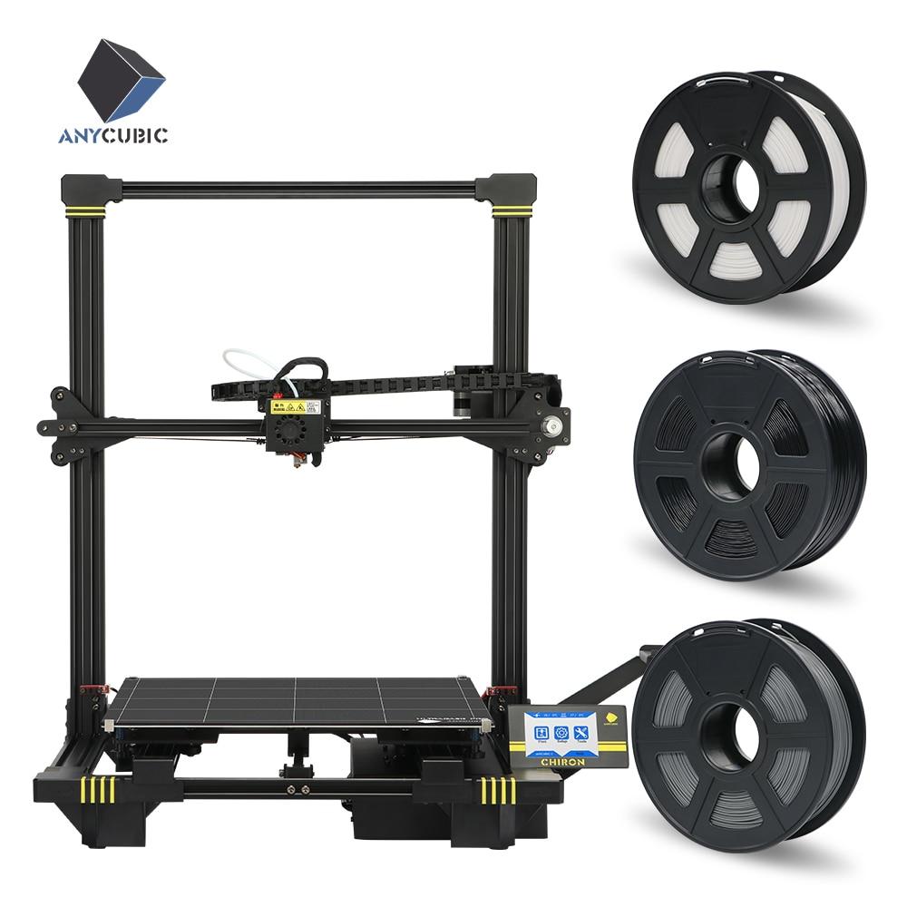 ANYCUBIC 3D Printer Kit Chiron Printing Newest Plus Size FDM High Precision Gadget Filament Printer 3d